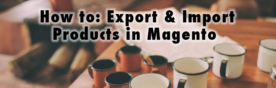 How to: Export & Import Products in Magento 2