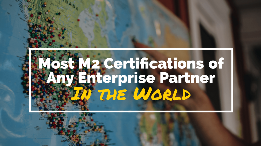 Creatuity Earns Most M2 Certifications of Any Magento Enterprise Partner 25