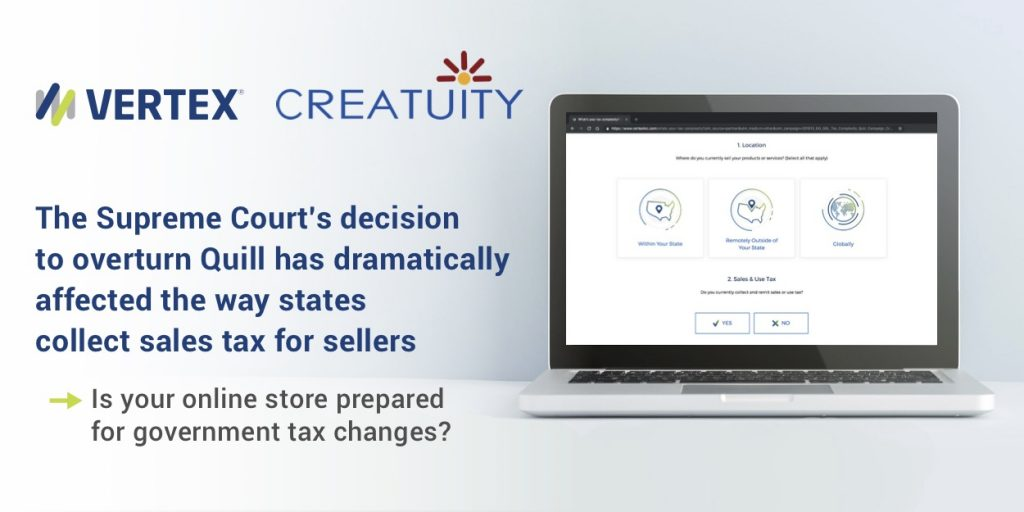 Navigating Sales Tax Changes with Vertex and Creatuity 73
