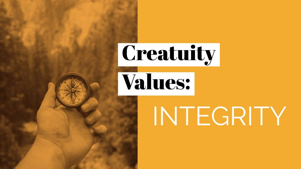 Our Company Values: Integrity 30