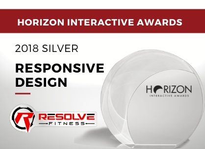 Responsive Design - 2018 Silver - Resolve Fitness