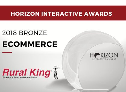 Ecommerce - 2018 Bronze - Rural King