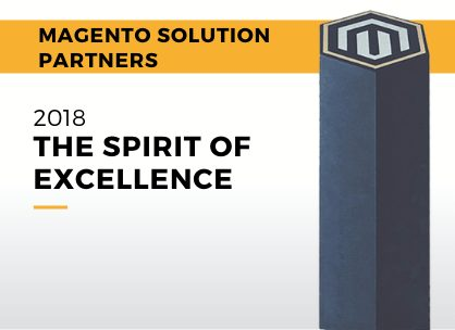 Magento Spirit of Excellence Award - Americas 2018 1